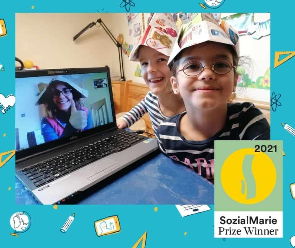 SozialMarie 2021 díjat kaptunk